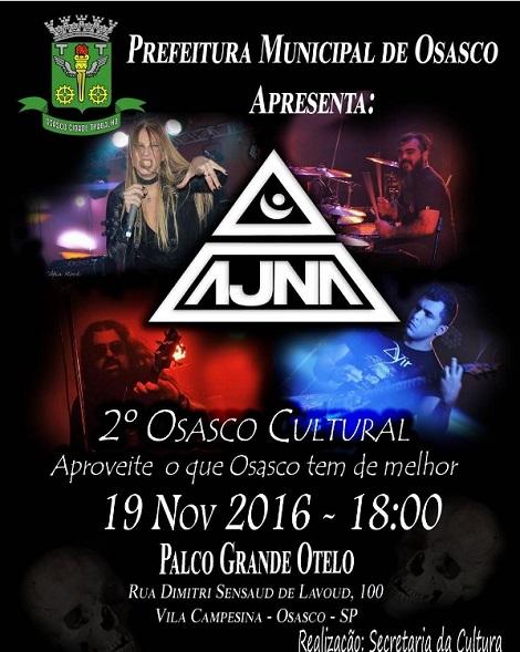 19-11-2016 - 2º OSASCO CULTURAL - AJNA - Osasco - SP