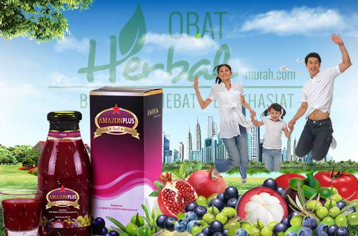 Khasiat Obat Herbal Amazon Plus