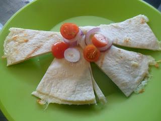 Quesadillas simple recipe for children