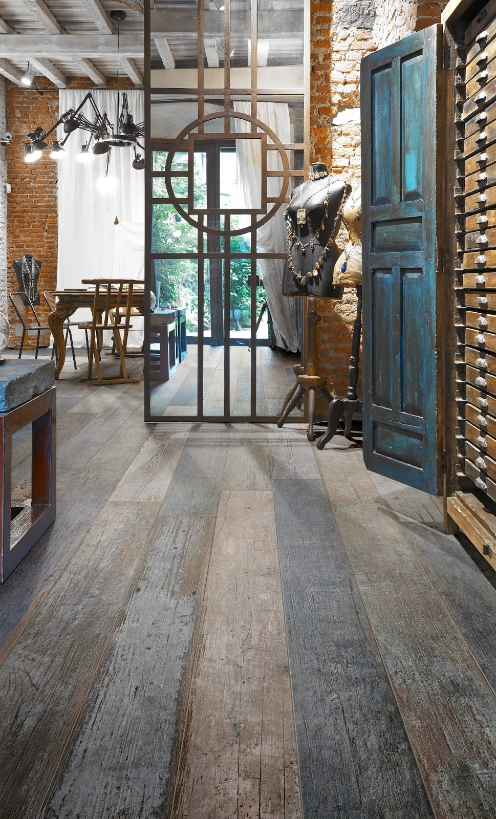 Love Living at Home - Love Living At Home: Get Look Of Weathered Barnwood Floors With