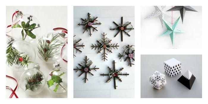 10 adornos low cost para tu árbol de navidad.
