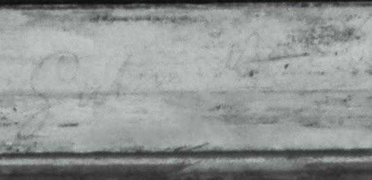 Vincent van Gogh Bilderrahmen Schrift entre 13 28 Infrarotlicht