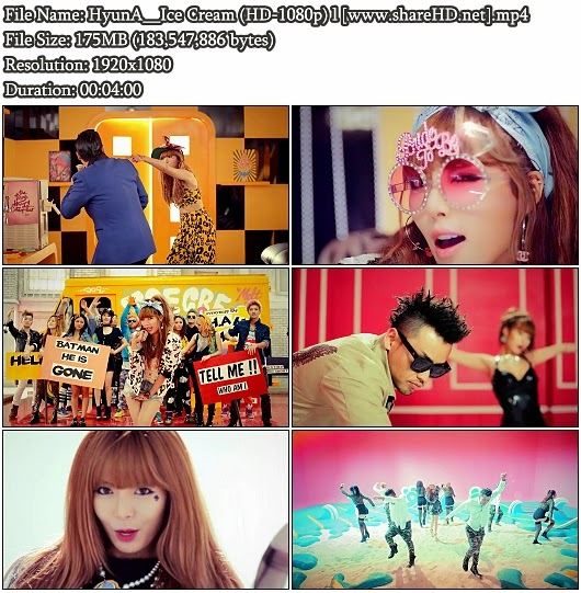 Download MV HyunA (현아) (4Minute) - Ice Cream (Full HD 1080p)
