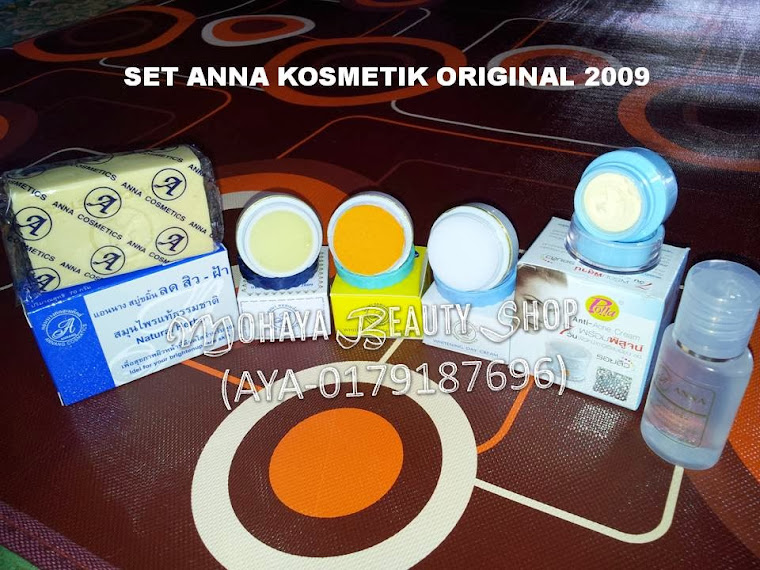 SET ANNA KOSMETIK ORIGINAL 2009