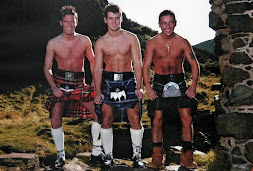 Three Men in a Kilt