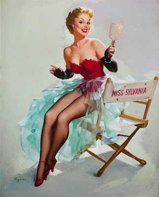 Gil Elvgren pin up girl