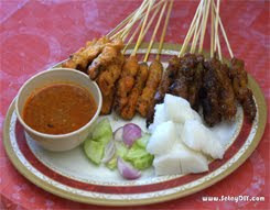 SATAY D.I.Y. COM...rempah SATAY resepi tradisi RM12 sahaja.