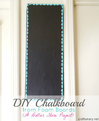 chalkboard foam boards