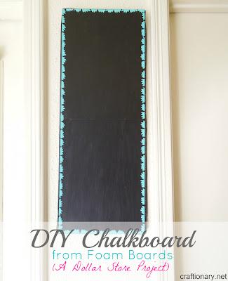 chalkboard foam boards