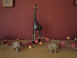 Afrikanische Giraffe Dekofigur
