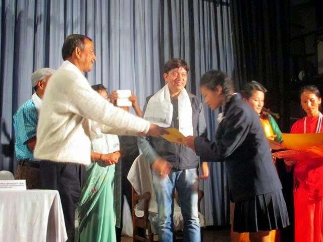 Minister gautam deb in Kanyashri Diwas kalimpong