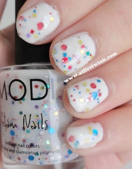 Modi nail polish 31 - Milky Wink