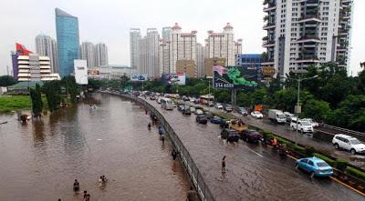 Penanganan Banjir Fokus di Kawasan Pluit