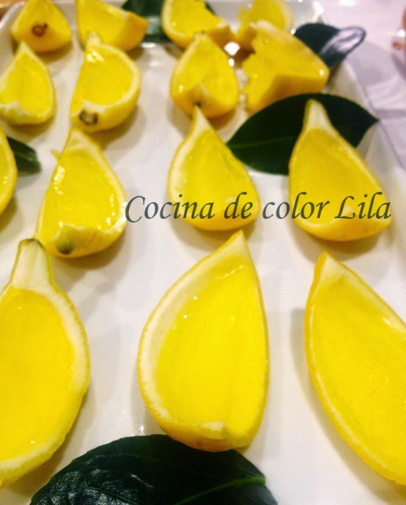 Cocina de color lila chupitos de limonchelo - Cocina color lila ...
