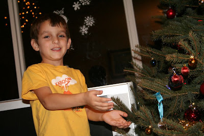 Our Boy with Christmas Tree :: All Pretty Things