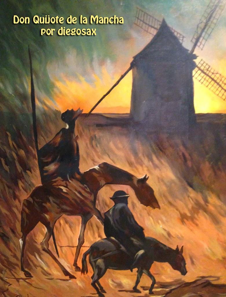 Don Quijote de la Mancha por diegosax  Audiovisual Paisajes Sonoros