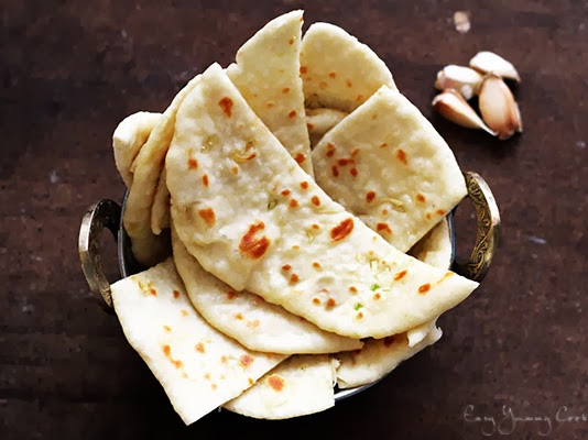 Garlic Naan [On stove]