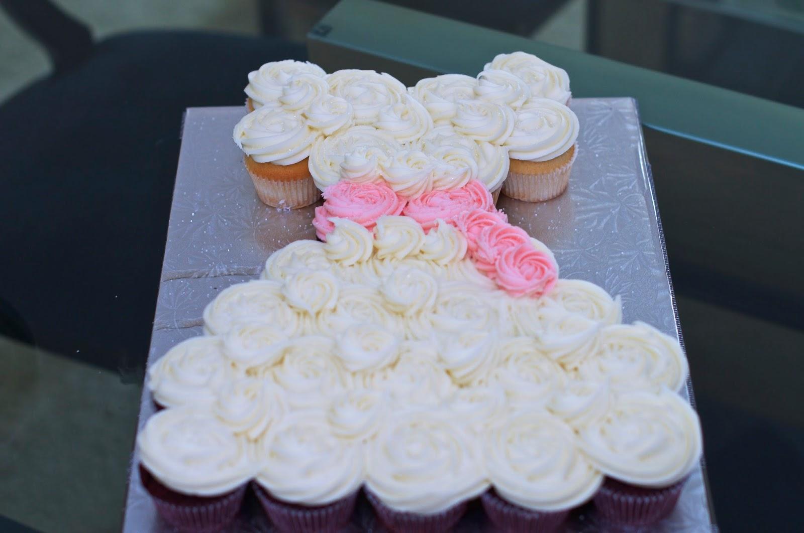 Wedding Dress Cupcake Cake 12 Spectacular We wanted to share