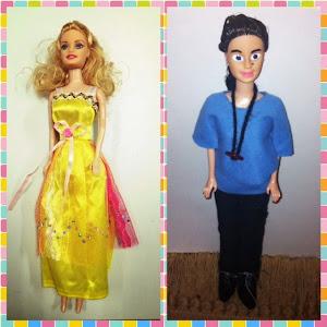 Transformación de nuestras Barbies