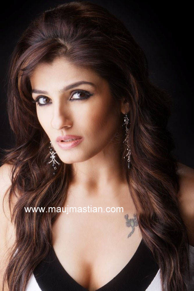 young raveena tandon nude