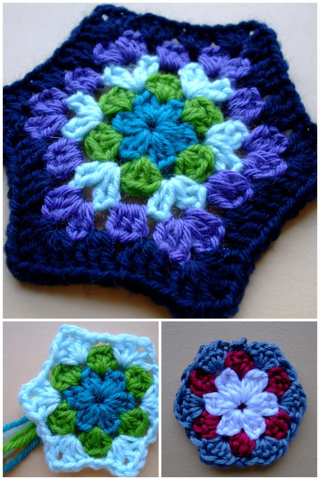 eggbird designs springtime hexagon free pattern