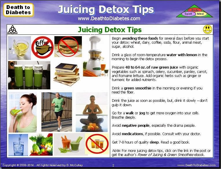 Juicing Detox Tips