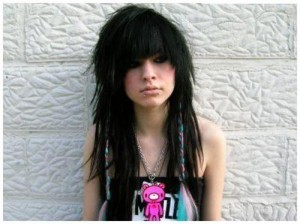 emo girl haircut 2012