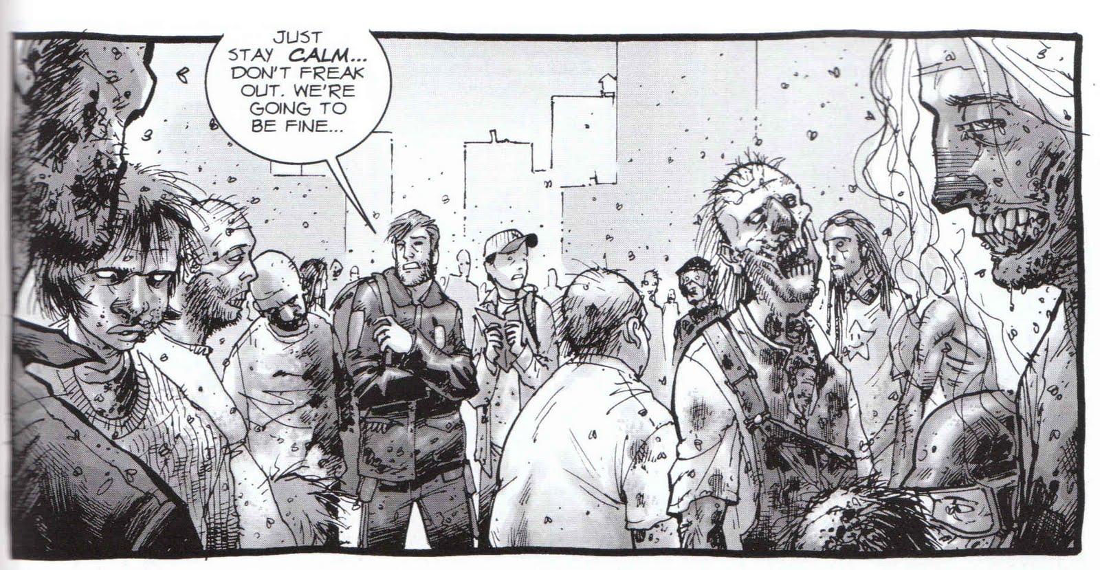 The Walking Deadsaison 8 episode 9  le message dadieu