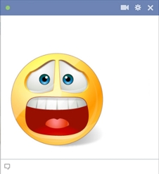 Facebook Smiley In Despair