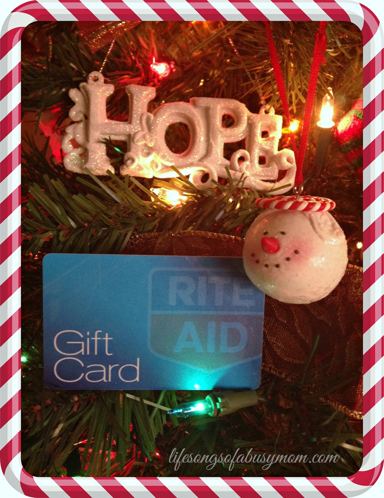 Life Songs Of A Busy Mom: Rite Aid Holiday Gifting Tree & Giveaway!