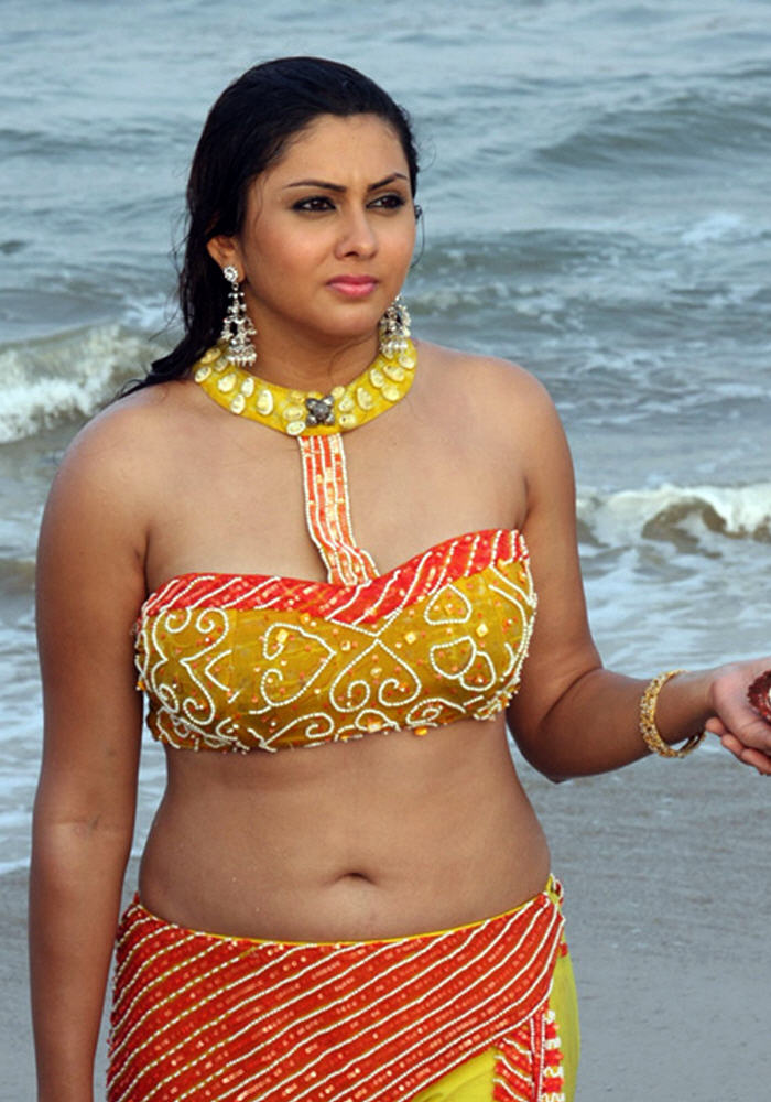Namitha hot navel