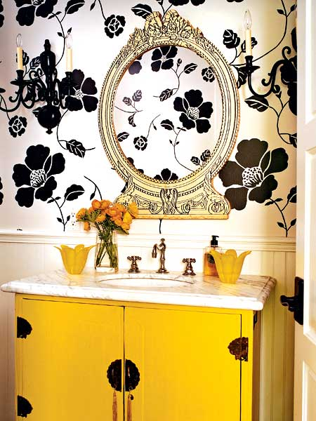 7 Yellow and Black Room Inspiration – Pursuit of