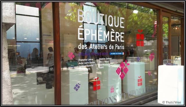 Designer's days boutique éphémère Viaduc des Arts