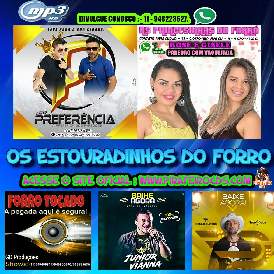 MP3 ESTOURADINHOS DO FORRÓ 2018 !!!