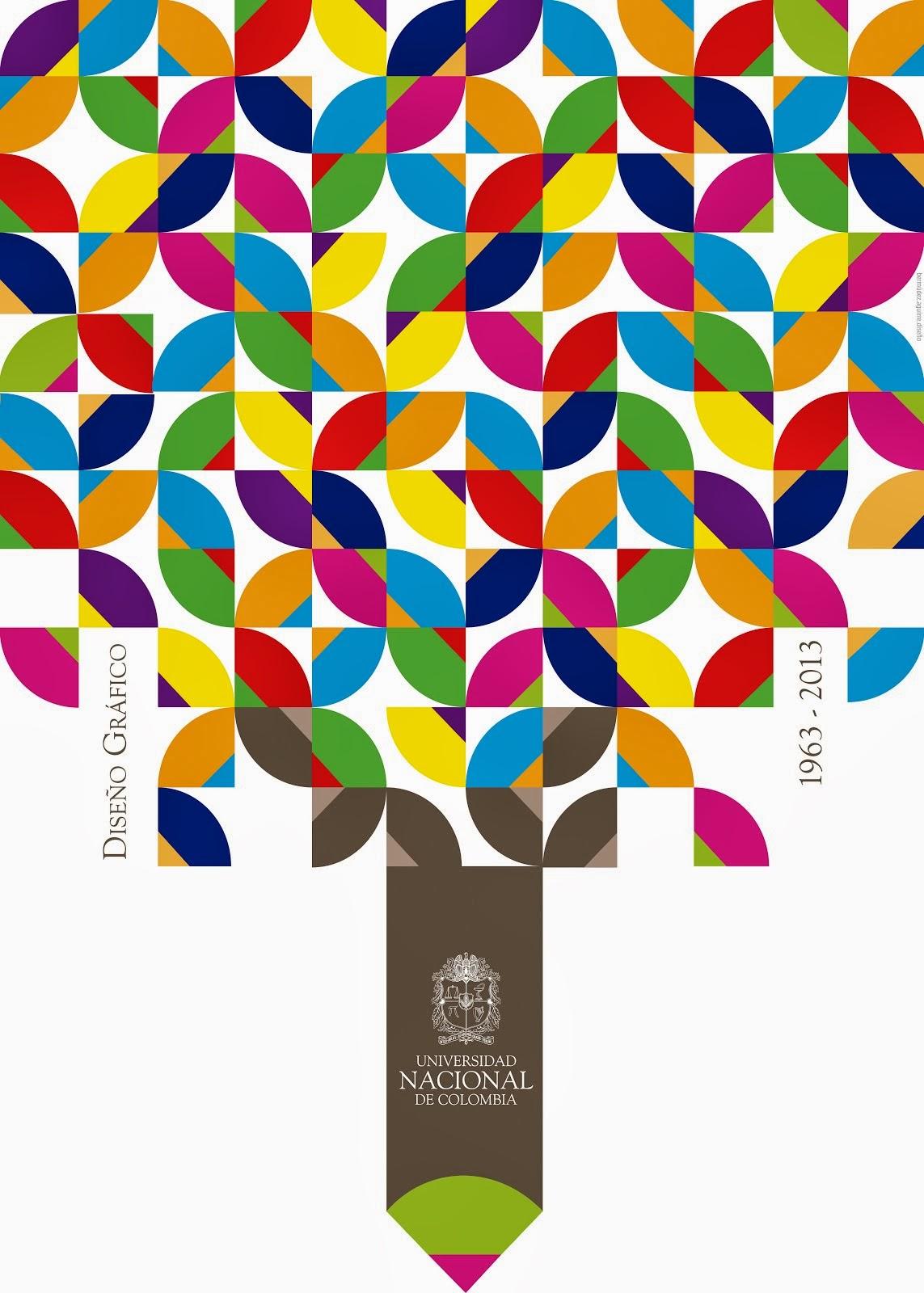 _50 aniversario Diseño Gráfico U. Nacional de Colombia