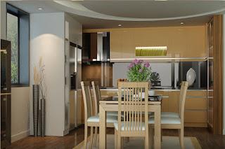 phòng ăn căn hộ Morning Star