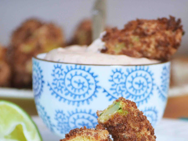 Avocado Fries with Southwestern Ranch Dip ~Sundays With Joy~