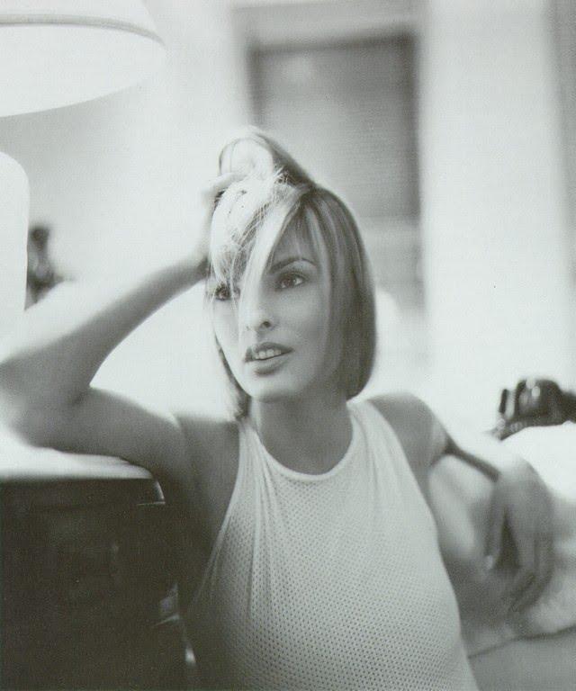 CLAUDIA SCHIFFER Linda Evangelista TATIANA PATITZ * Vogue ...