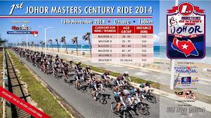 1st Johor Master Century Ride 2014 - 15 November 2014