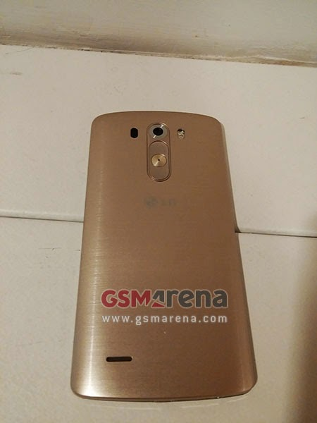 New leaked images showing LG G3 in Golden