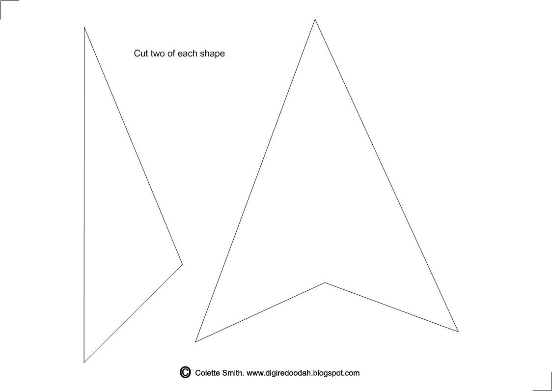 Digi-re-doo-dah: Teepee Template