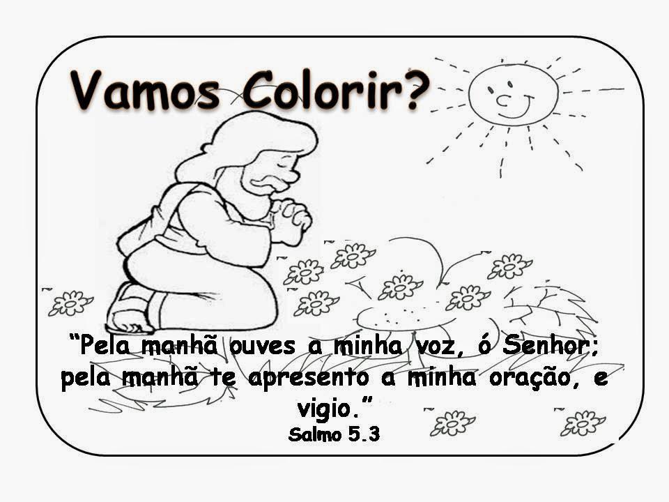 Fabuloso Evangeliza!: Desenho evangélico para colorir, desenho com  WX15