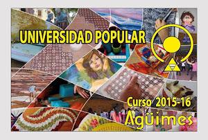 Universidad Popular de Agüimes Curso 2015-2016