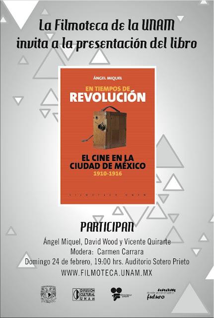 """Presentación del libro """"El cine en la Ciudad de México 1910-1916"""""""