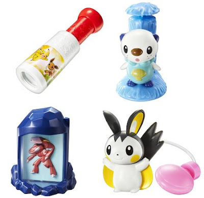 Pokemon Happy Meal Toys 2 2013 Summer McDonaldsJP