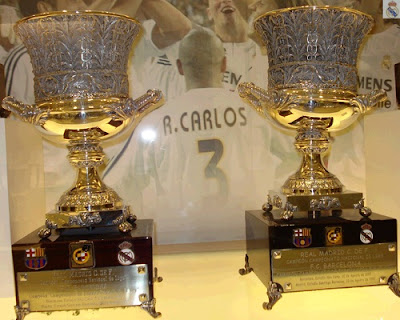 2 Spanish Super Cups won by Real Madrid against Barcelona