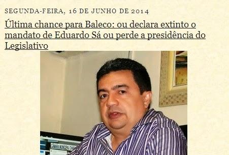 Nonato Baleco e a Zorra Total na Câmara de Chapadinha (2)