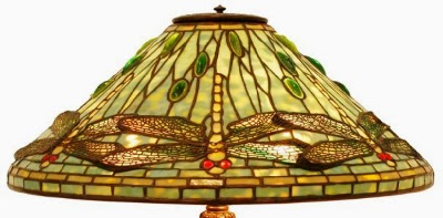 Antique Tiffany Lamps   Shade Shapes And Variations
