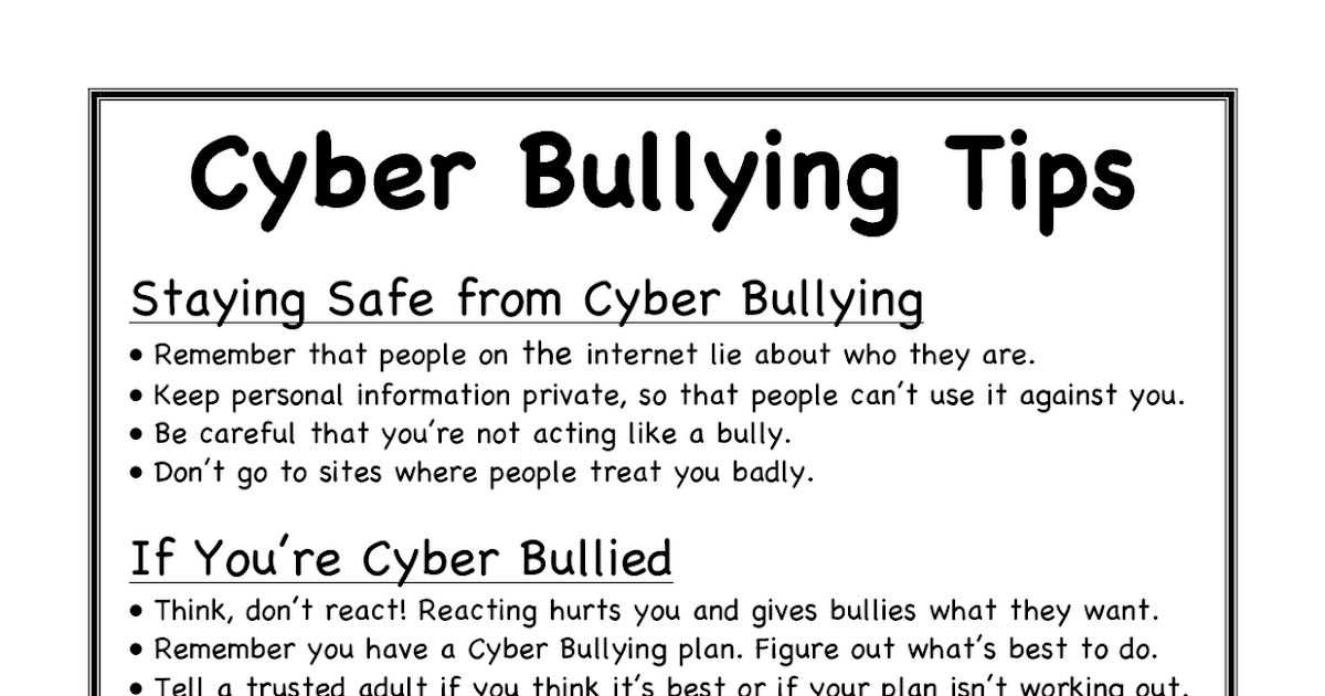 opposition on cyber bullying Explore the pros and cons of the debate should cyberbullying be criminalized.