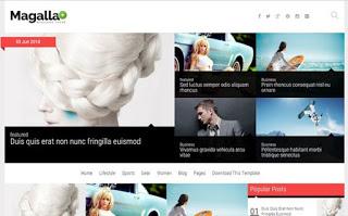 Magalla Blogger Premium Free